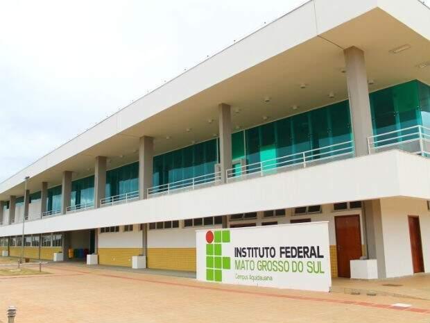 No campus de Aquidauana, são 41 vagas em três cursos. (Foto: Arquivo)