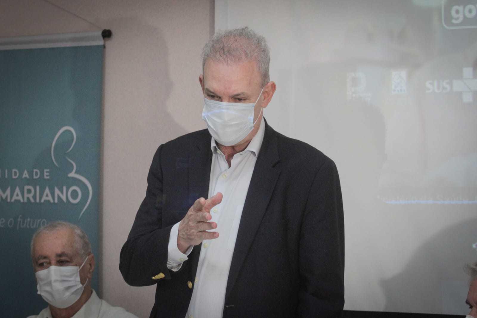Secretário, Geraldo Resende diz que programa vai equipar todos os municípios com aparelhos de ultrassom, exame essencial para acompanhamento da gestação. (Foto: Marcos Maluf)