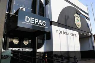 O caso foi registrado na Depac (Delegacia de Pronto Atendimento Comunitário) Centro (Foto: arquivo/Campo Grande News)