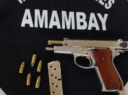 Polícia apreende pistola usada em três ataques a agentes penitenciários