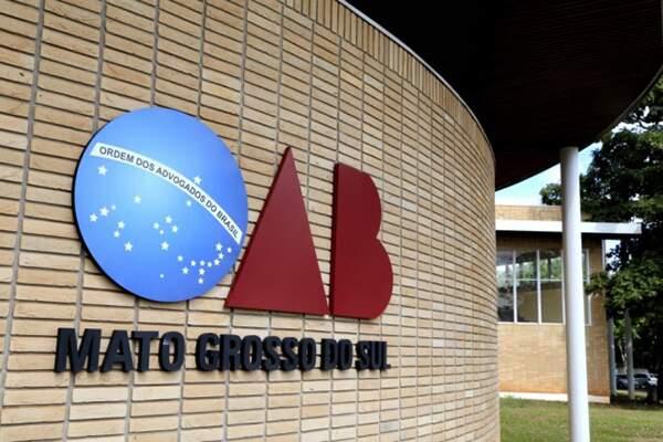 Fachada do prédio da Ordem dos Advogados do Brasil, em Mato Grosso do Sul. (Foto: Divulgação)