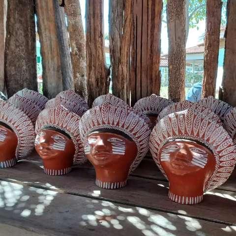 Artesanato terena será vendido por loja que é sonho de consumo