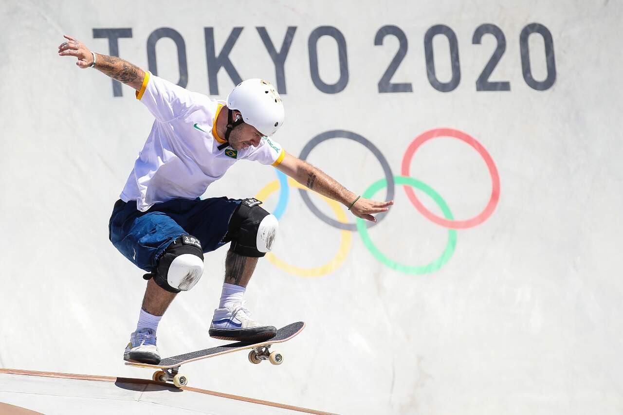 Atleta Brasileiro garantiu a medalha na primeira volta da final. (Foto: Gaspar Nóbrega/COB)