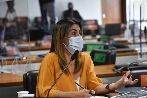 """""""Tive problema sério de fígado"""", diz senadora de MS após usar ivermectina"""
