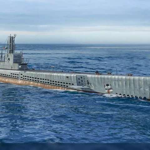 Submarinos finalmente chegam ao combate naval de World of Warships