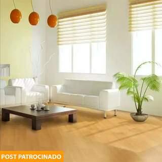 A Leroy tem maior variedade de pisos laminados, que também entram em oferta, como o Carvalho Firenzen. (Foto: Divulgação)
