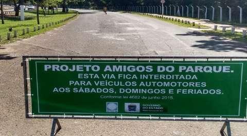 Projeto Amigos do Parque volta sem interdições neste final de semana