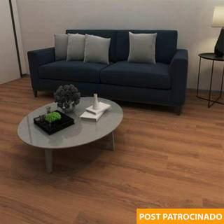 Piso vinílico Eucafloor agora sai R$ 67,90 o metro quadrado. (Foto: Reprodução Site: www.leroymerlin.com.br)