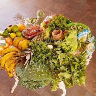 Dá pra garantir aquela cesta de orgânicos para a família toda. (Foto: Orgânicos da Jé)