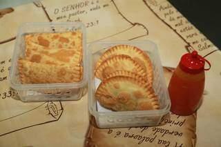 Combo de pastéis de seu Zeca Chama. (Foto: Kísie Ainoã)