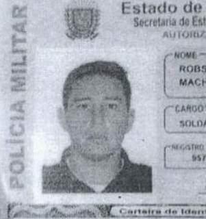 Print da identidade funcional de Valandro (Foto: Reprodução)