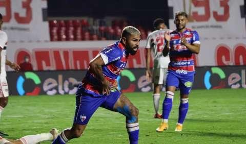 São Paulo abre 2 a 0, mas Fortaleza deixa tudo igual no fim da partida