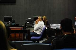 Ex-major Sergio Roberto de Carvalho durante julgamento, em Campo Grande. (Foto: Arquivo)