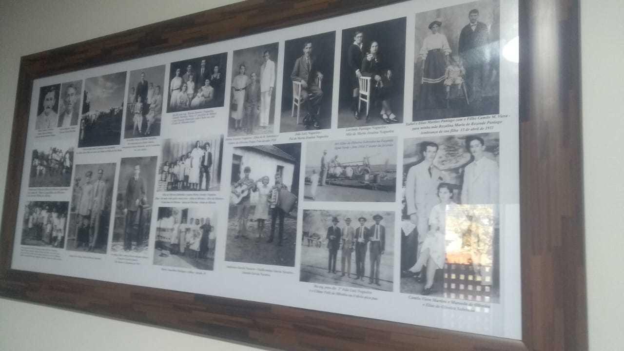 Coleção de fotos antigas da família, que Ronildo tem como acervo. (Foto: Arquivo Pessoal)