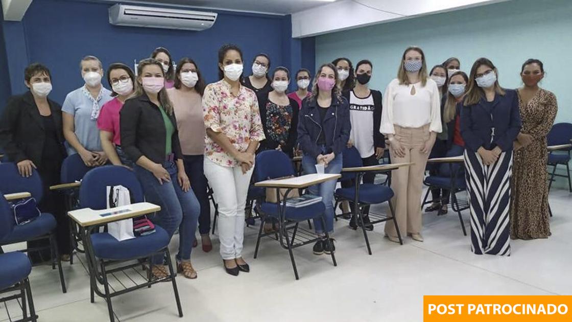 Primeira turma de futuros enfermeiros estomaterapeutas. (Foto: Divulgação)