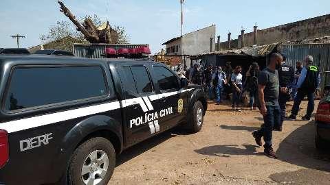 Polícia sai às ruas contra furtos que já somam prejuízo de R$ 1 milhão