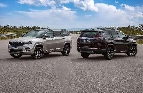 Jeep Commander chega com versões flex e turbo diesel de sete lugares