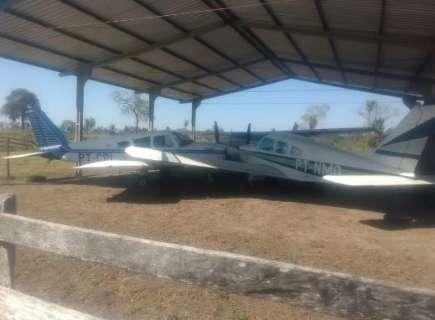 Em 2018, assaltantes morreram ao tentar roubar avião de fazenda em Aquidauana