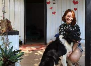 Após sair da casa dos pais, Amanda trouxe Ragnar para morar com ela. (Foto: Jéssica Fernandes)
