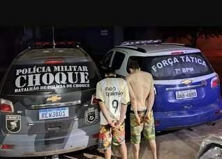 Dupla envolvida no roubo das aeronaves em Aquidauana. (Foto: Reprodução/JornalNotíciasdoEstado)