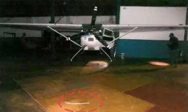 Roubo das 3 aeronaves foi transmitido em chamada de vídeo para chefe do bando