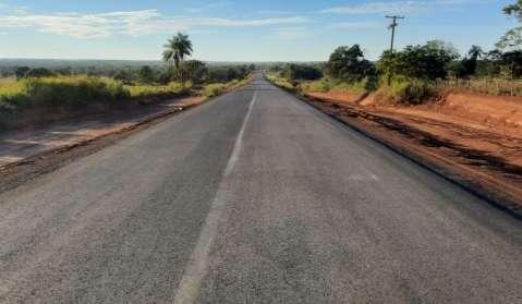 Governo assina contrato de R$ 9,4 milhões para asfaltar MS-316
