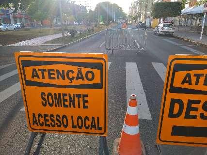 Pistas da Afonso Pena e Rui Barbosa serão interditadas amanhã