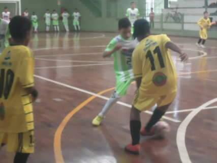Chuva de gols marcou a rodada deste sábado na Copa Pelezinho