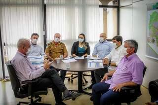 Reunião aconteceu na última sexta-feira (09), na sede da governadoria. (Foto: Divulgação)