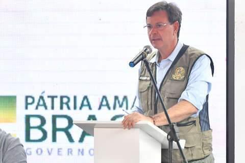 Ministro do Turismo vem a Bonito para homenagem e reunião com prefeito
