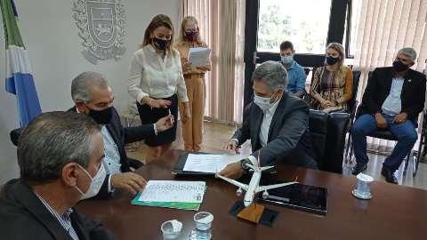 Com vacinação avançada, Gol anuncia 1º voo regular e direto entre Bonito e SP