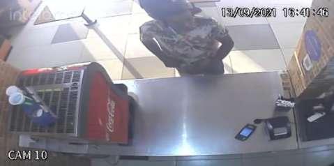 "Vídeo mostra assalto ""relâmpago"" em lanchonete na Afonso Pena"