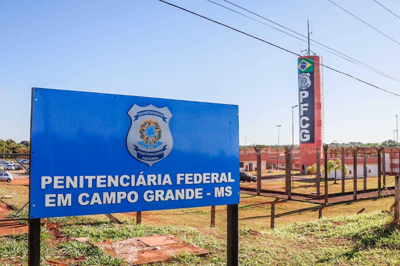 A Penitenciária Federal, em Campo Grande, fica no Jardim Los Angeles. (Foto: Henrique Kawaminami)