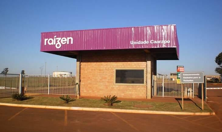 Unidade da usina instalada em Caarapó, em Mato Grosso do Sul. (Foto: Divulgação)