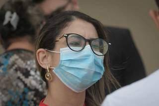 Jéssica, irmã de Luiz, pede a condenação máxima para o réu. (Foto: Marcos Maluf)