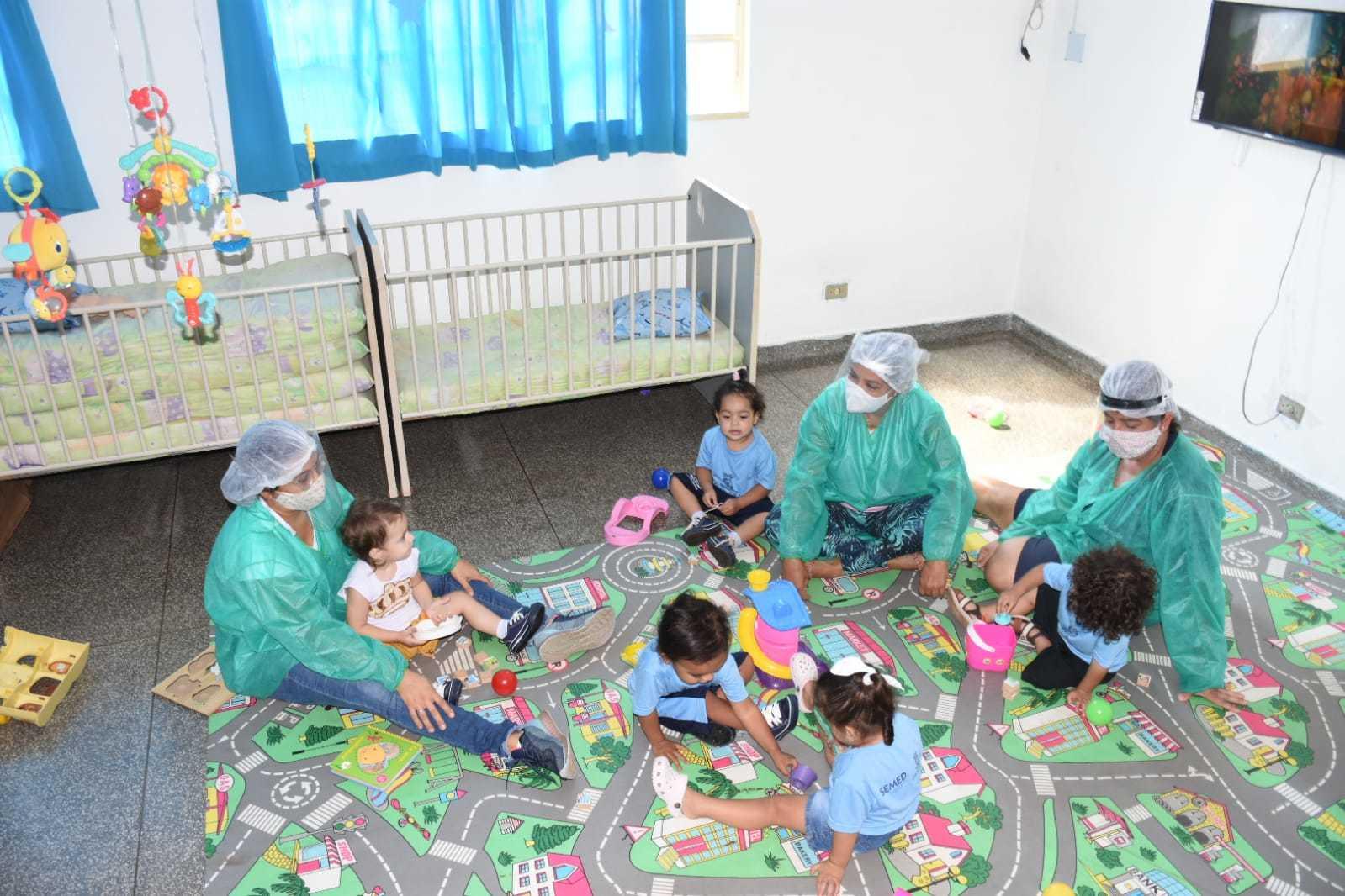Salas de aulas receberam até 12 alunos seguindo todos os cuidados. (Foto: Divulgação)