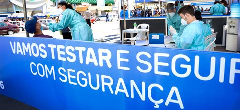 Ministério da Saúde realizará testagem em massa na população de Campo Grande