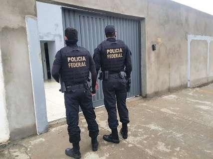 PF apreende 150 veículos, avião e lancha em ação contra organização criminosa