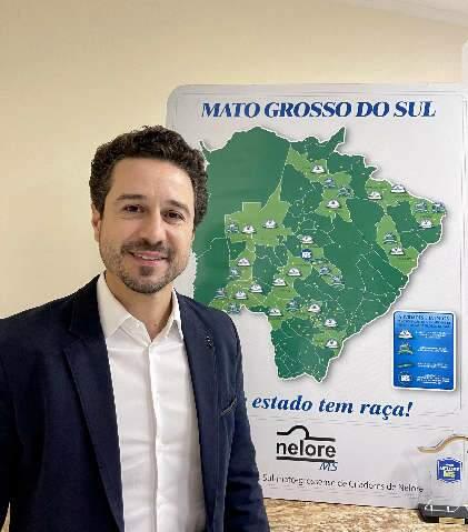 Raphael Zoller é eleito presidente da Nelore MS