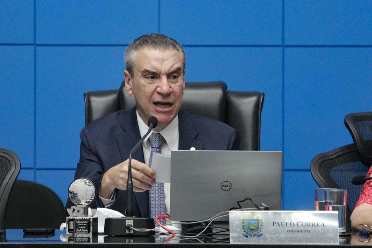 Presidente da ALMS, deputado Paulo Corrêa (PSDB) garantiu que legisladores irão discutir o pacto federativo. (Foto: Marcos Maluf)