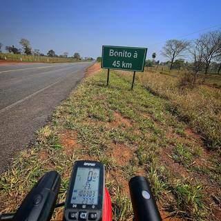 Ciclista se preparou durante quatro meses para realizar desafio. (Foto: Arquivo Pessoal)