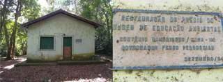 Casa histórica dentro do parque. (Foto: Arquivo da pesquisa de Marcos Vinicius Campelo Junior)