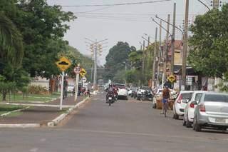 Rua Barreiras é o mais novo corredor da cidade, mas não tem previsão de ser revitalizado. (Fotos: Marcos Maluf)