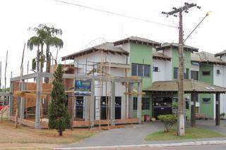 Hotel passa por obras para aumentar leitos e precisou terceirizar serviços. (Foto: Marcos Maluf)