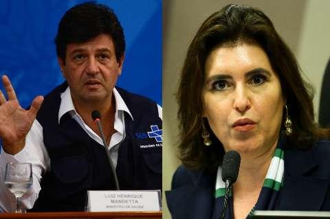 Mandetta tem 5% e Simone 2% dos votos em simulações da corrida presidencial
