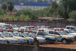 """PM diz que frota abandonada de 220 veículos ficou """"inviável"""""""