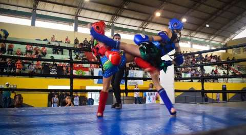 Campo Grande sedia estadual de Muay Thai neste final de semana