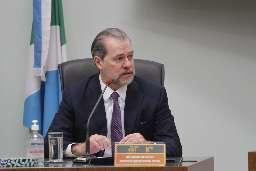 """Em MS, Toffoli diz que Brasil sofre com """"campanhas de desinformação"""""""