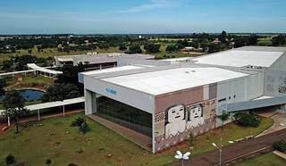 Vista aérea do campus da UEMS, em Campo Grande. (Foto: Divulgação)