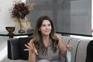 Proprietária do Studio Sandra, Sandra Bezerra (Foto: Marcos Maluf)